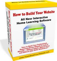 How To Build Your Own Website - Video Software