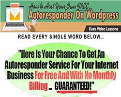 Autoresponder For WordPress