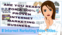 Internet Marketing Videos - Business Pack