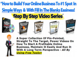 10 Online Business Start Up Video Sets