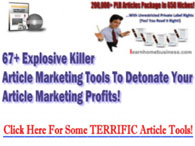 67 Article Marketing Tools